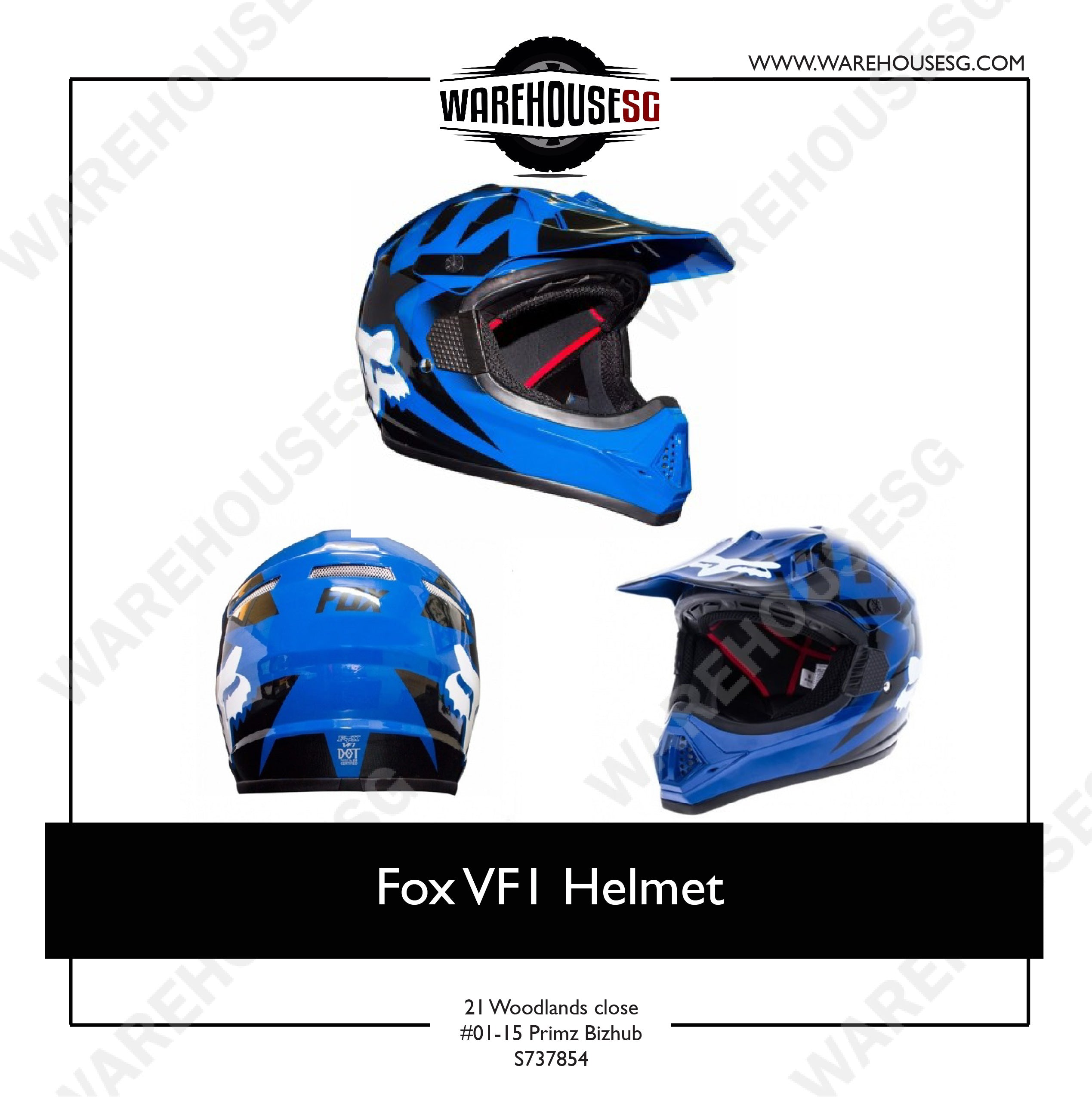 Fox VF1 Helmet