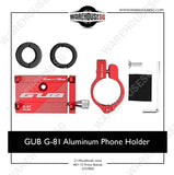 GUB G-81 Aluminum Phone Holder