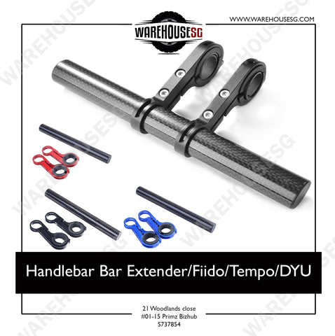 Handlebar Bar Extender - Long