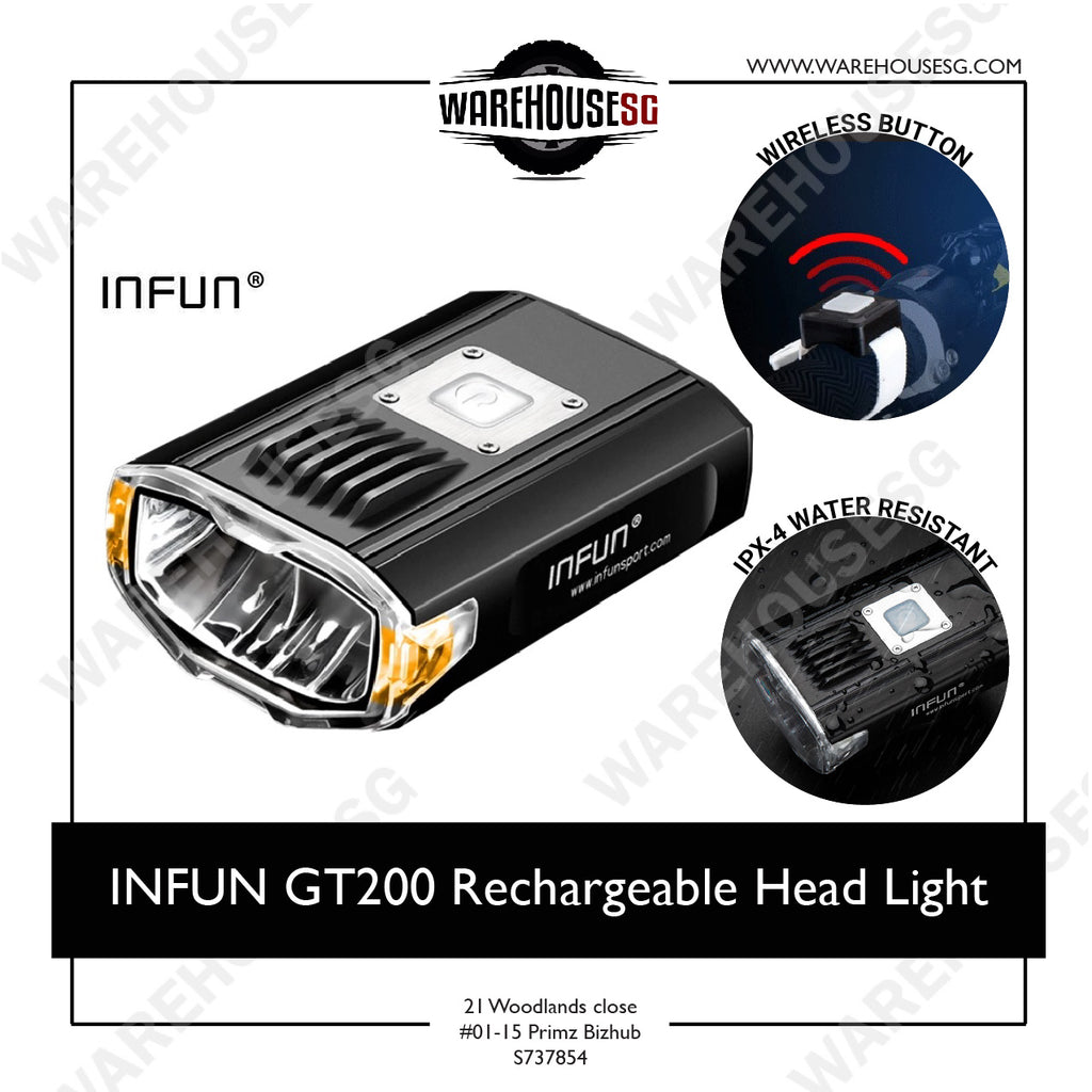 INFUN GT200 Rechargeable Head Light