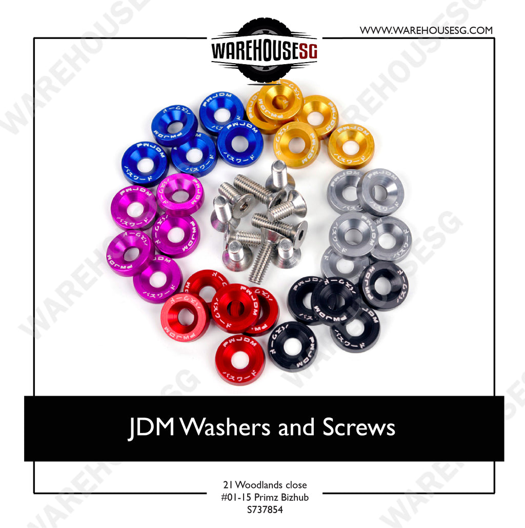 JDM Washers and Screws
