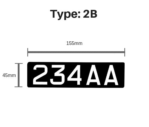 [Free Normal Mail] Print LTA Identification Mark Sticker (E Scooter Registration)