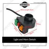 Light and Horn Switch