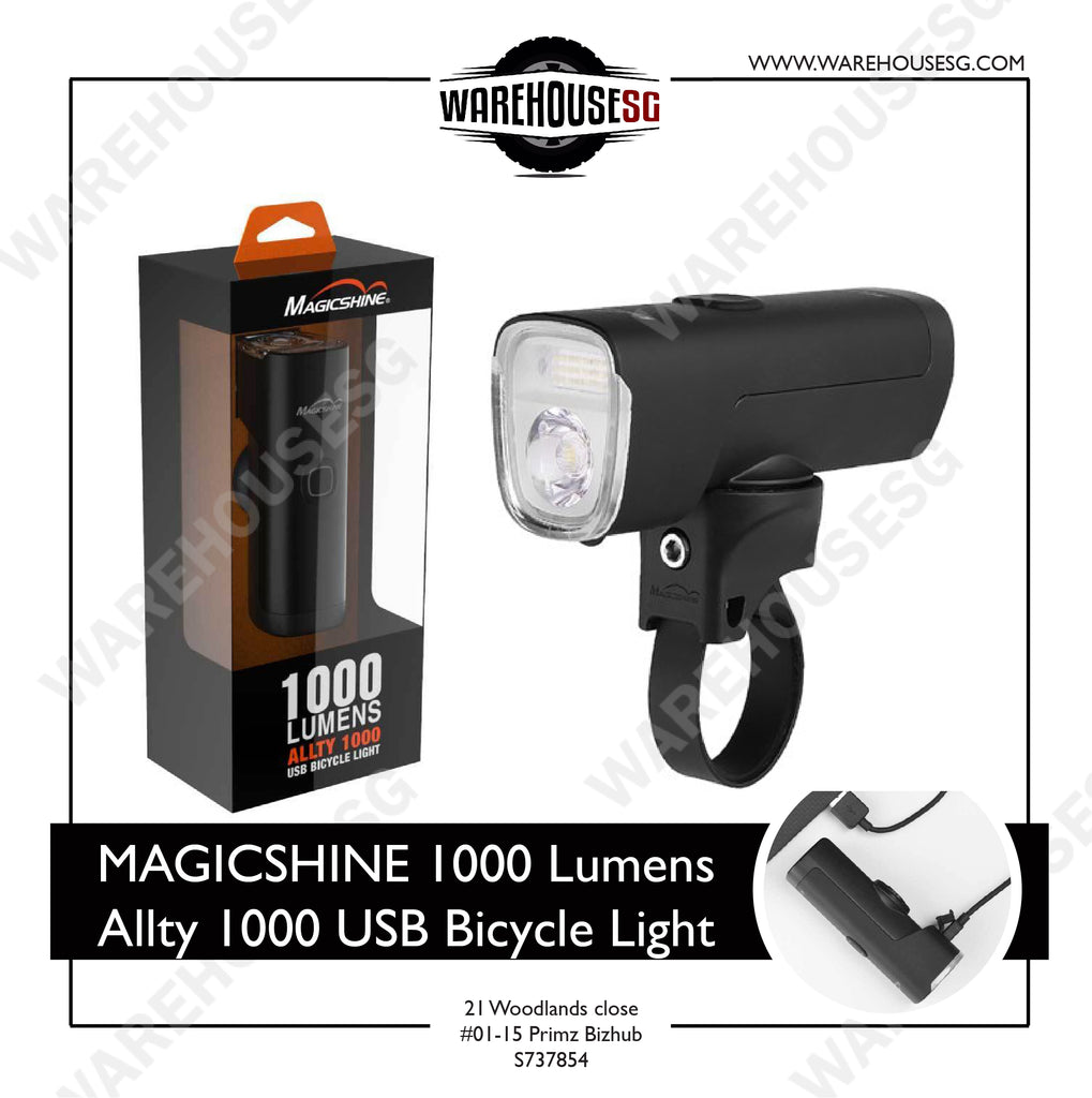 MAGICSHINE 1000 Lumens Allty 1000 USB Bicycle Light
