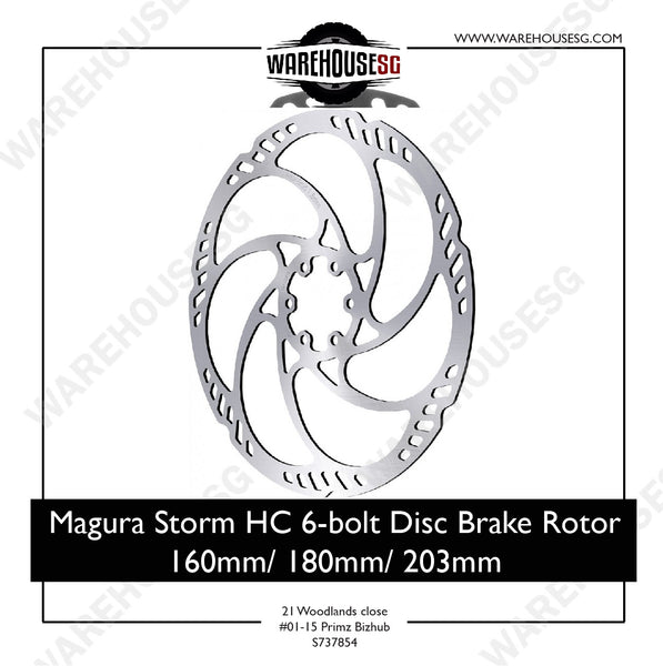MAGURA Storm HC Disc Brake Rotor 160mm/ 180mm / 203mm