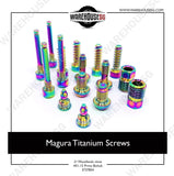 MAGURA Titanium Screw Set