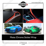Matte Chrome Sticker Wrap