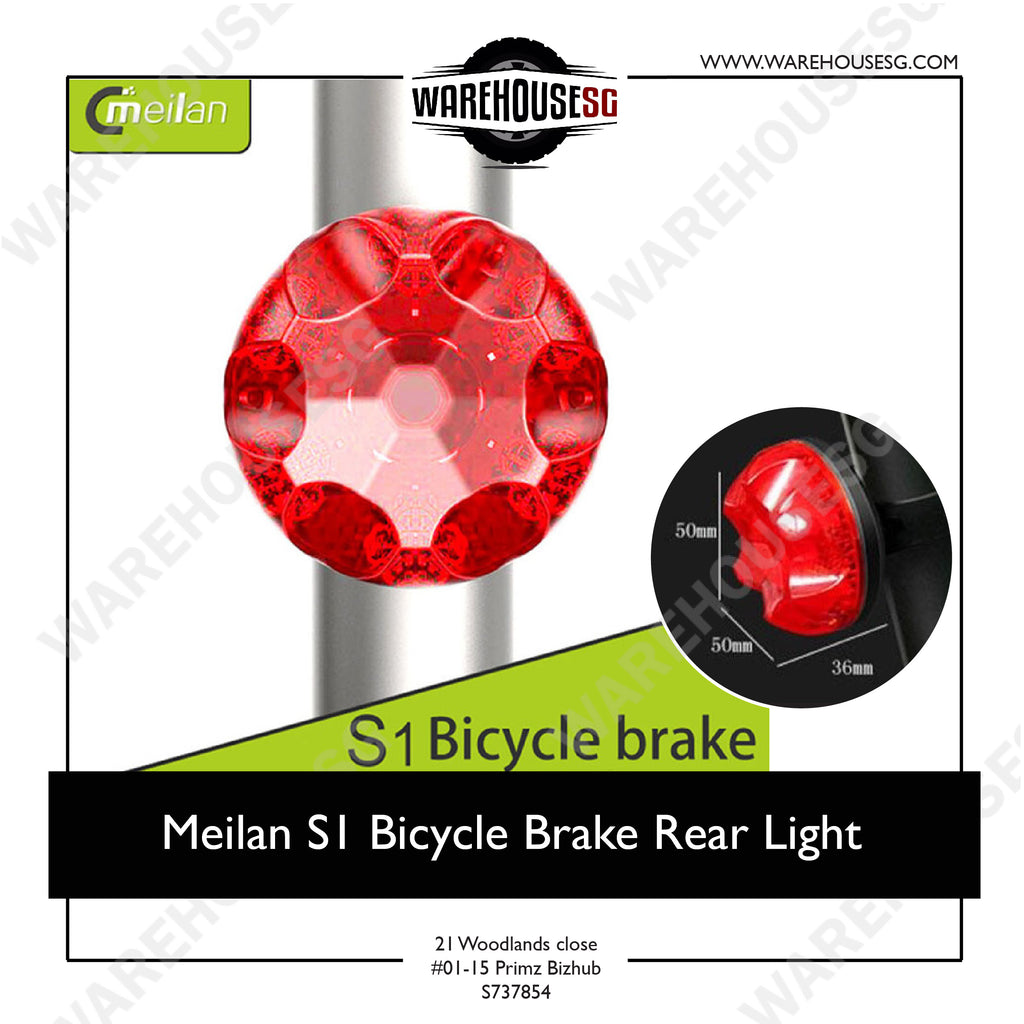Meilan S1 USB Bike Taillight