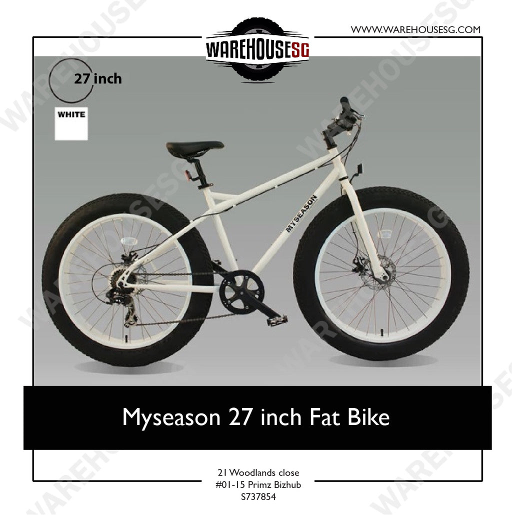 Myseason 27 inch Fat Bike