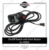 On/Off Switch with Horn Button for FIIDO E-scooter