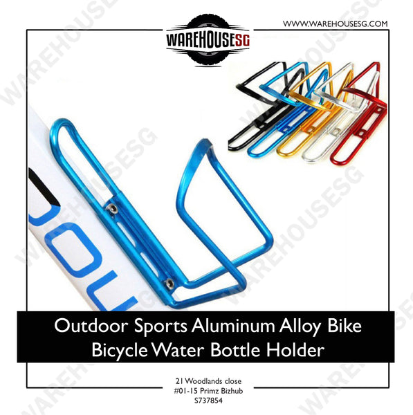 Outdoor Sports Aluminum Alloy Bike Bicycle Water Bottle Holder/ / water bottle cage / sport bottle holder