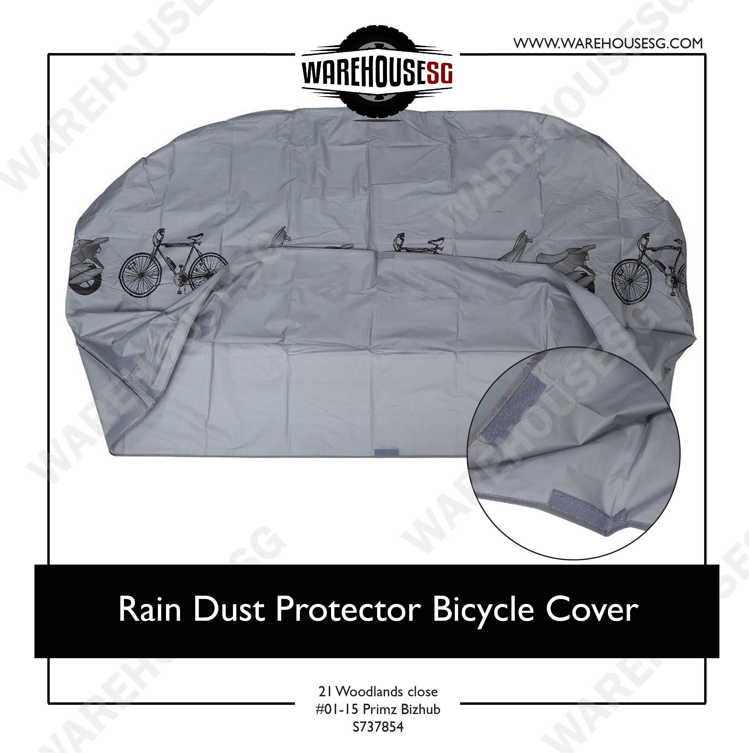 Rain Dust Protector Bicycle Cover