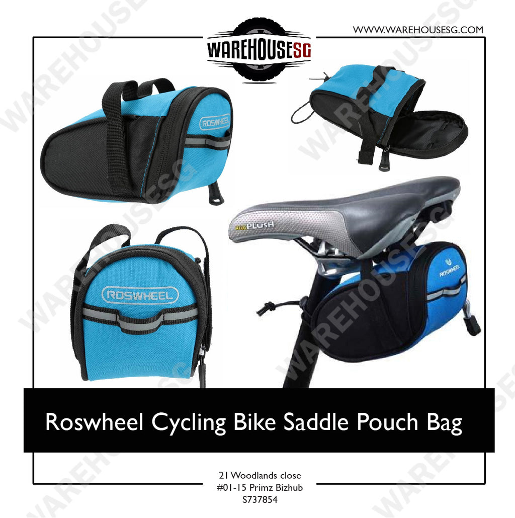 Roswheel Cycling Bike Saddle Pouch Bag