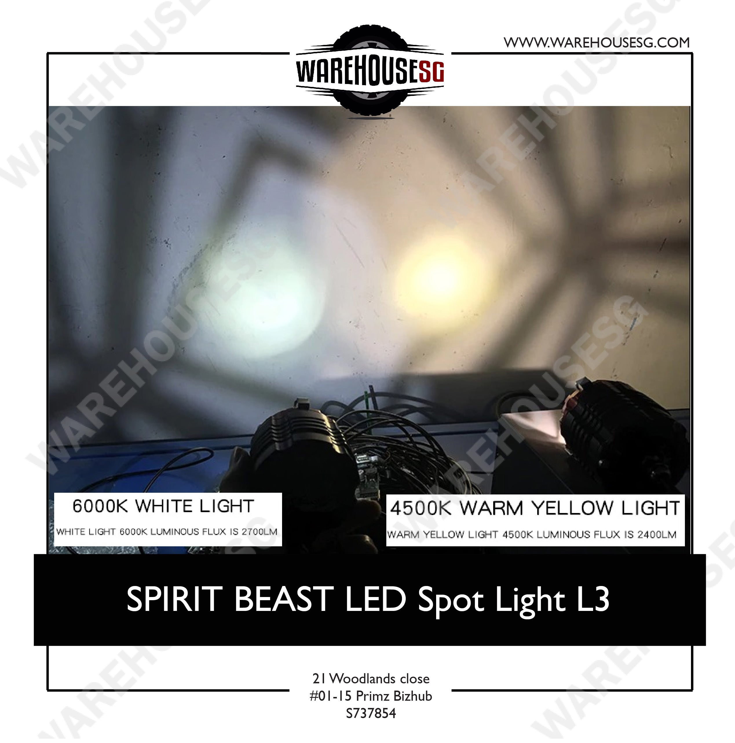 SPIRIT BEAST LED Spot Light L3