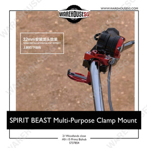 SPIRIT BEAST Multi-purpose Clamp/Mount