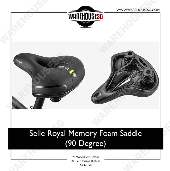 Selle Royal Memory Foam Saddle (90 Degree)