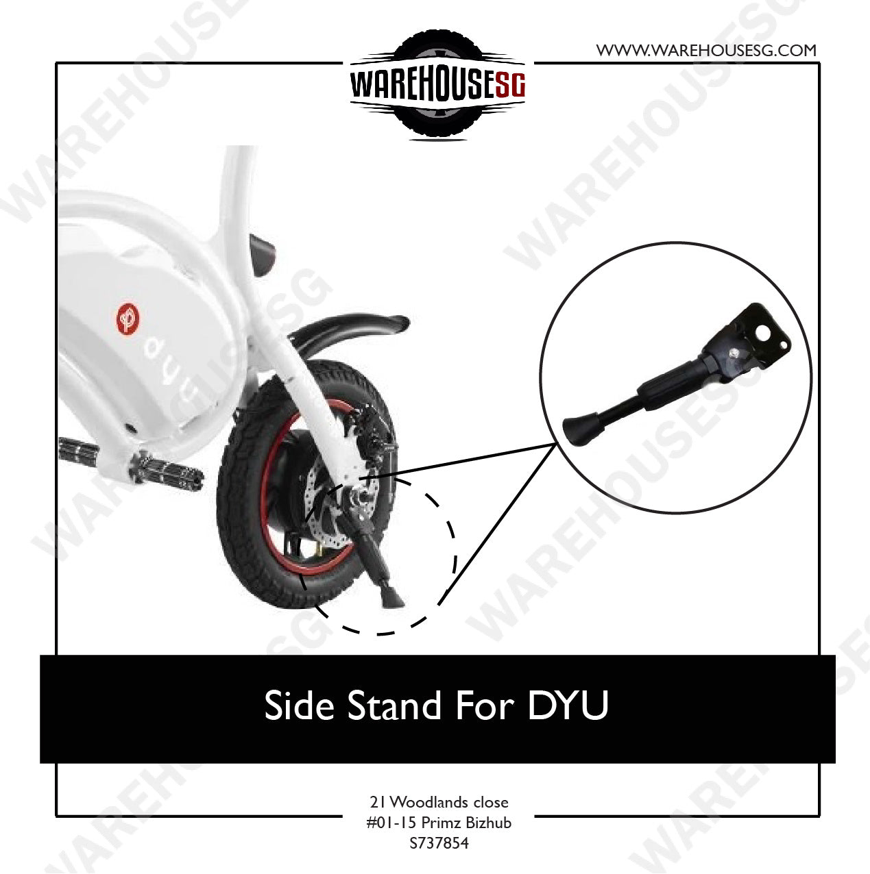 Side Stand For DYU