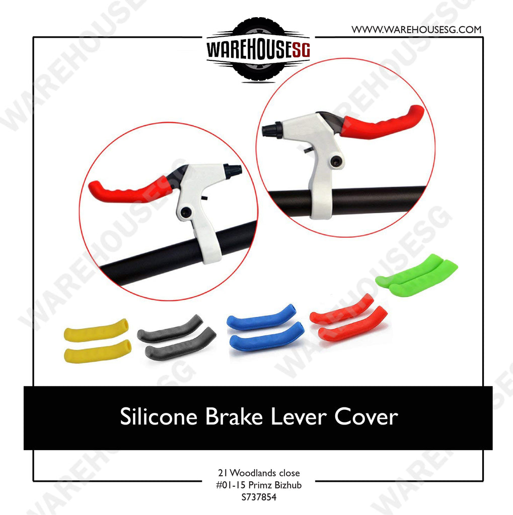 Bicycle Brake Handle Cover Universal Silicone Sleeve Bike Protection Accessories