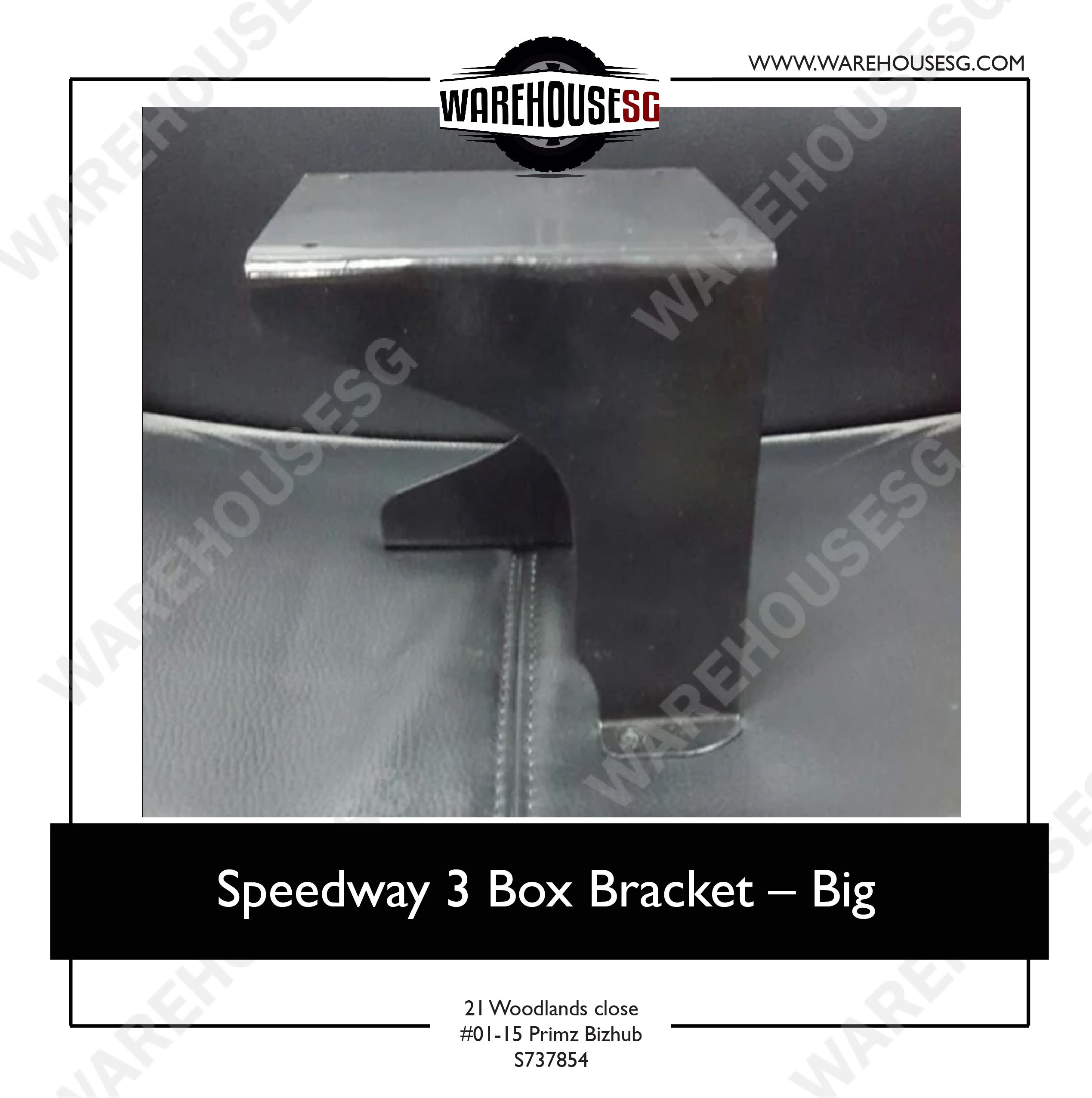 Speedway 3 Box Bracket - Big