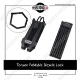 Tonyon Foldable Bicycle Lock