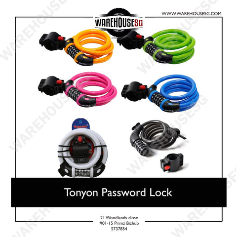 Tonyon Colourful Password Lock