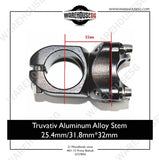 Truvativ Aluminum Alloy Stem 25.4mm/31.8mm*32mm