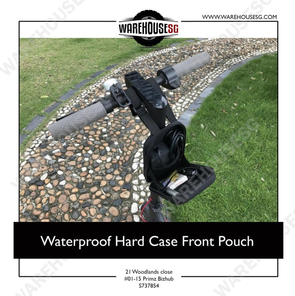 Waterproof Hard Case Front Pouch