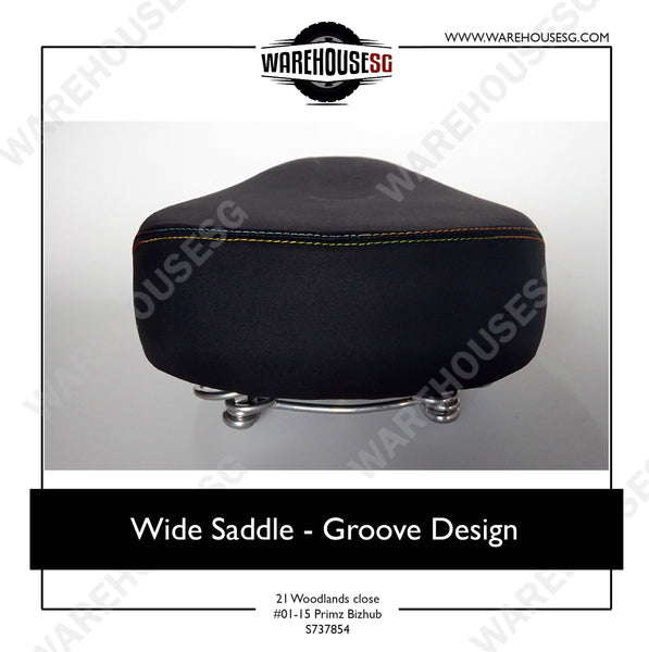 Wide Saddle - Groove Design