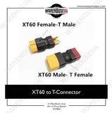 XT60 to T-Connector