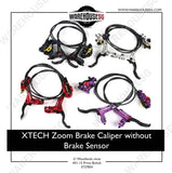 Zoom Hydraulic Brake Calipers with/without Brake Sensor