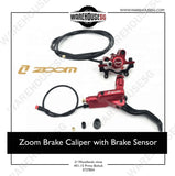 Zoom Hydraulic Brake Caliper with Brake Sensor