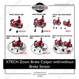 ZOOM Xtech Semi Hydraulic Disc Brake Caliper
