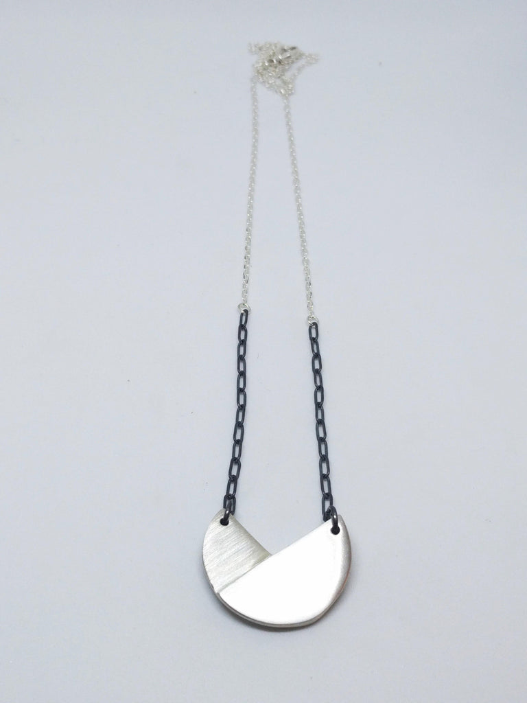 Folded Circle Necklace