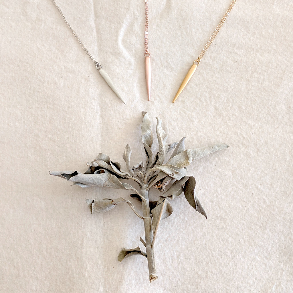 Small Spike Necklace