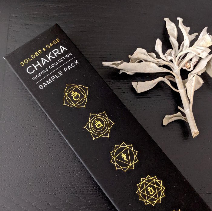 Chakra Incense - Sample Pack