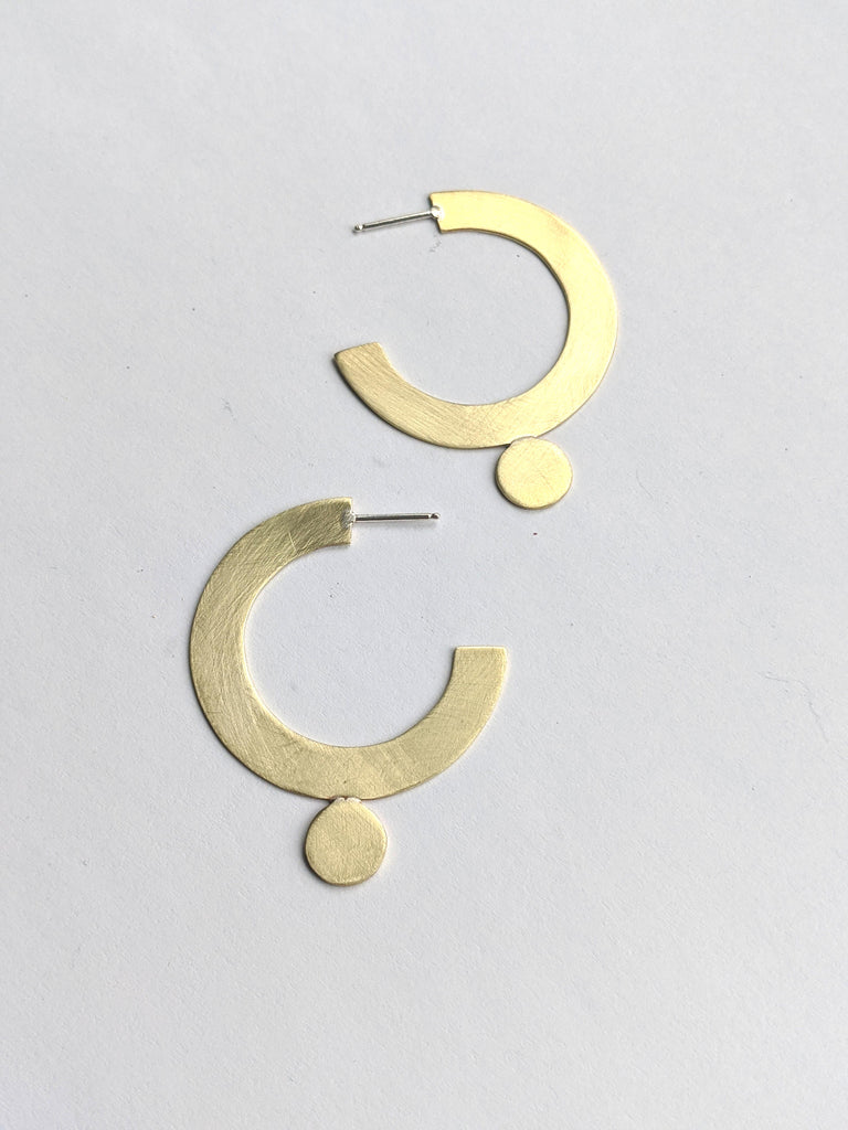 Colure Hoop Earrings