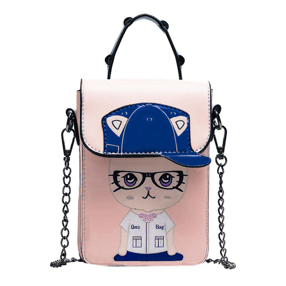 Cat with Hat Messenger bag