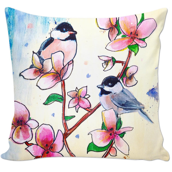 Chickadees & Cherry Blossoms - ontothenext.design
