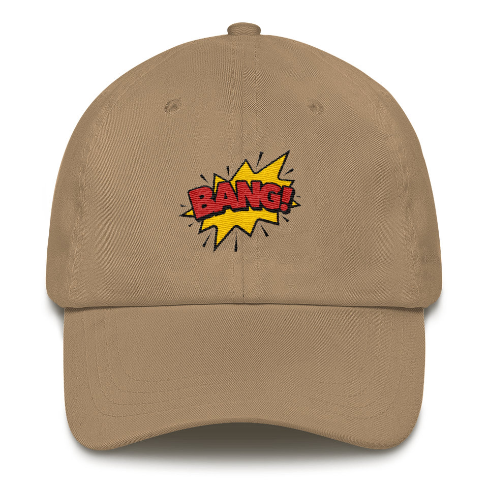 """BANG!"" Dad hat - ontothenext.design"