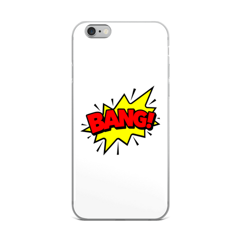 """BANG!"" iPhone Case - ontothenext.design"
