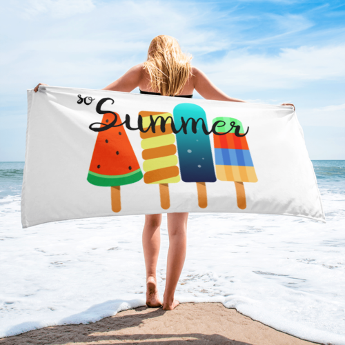 """So Summer"" Beach Towel"