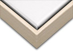Creative Mark Illusions Wood Floater Frame for 3/4 Inch Canvas 20X24 - Natural & Black