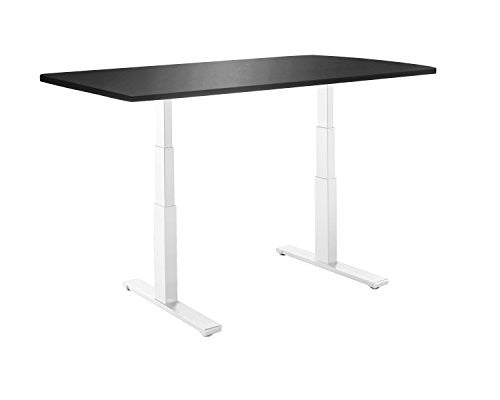 Autonomous Classic Solid Table Top for DIY Standing Desk Kit, Black