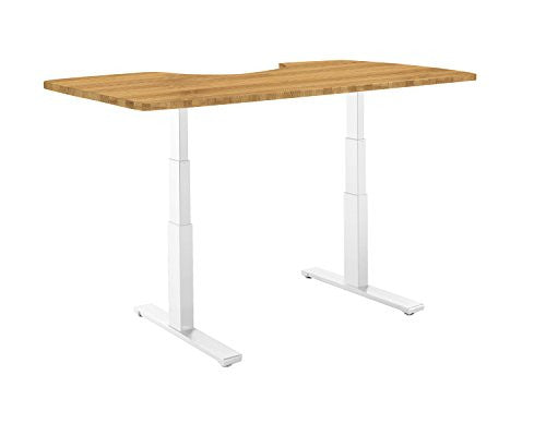 Autonomous Ergonomic Bamboo Table Top for DIY Standing Desk Kit