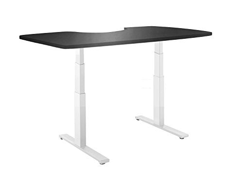 Autonomous Ergonomic Solid Table Top for DIY Standing Desk Kit, Black
