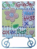 Great Grandma Mother's Day Gift -Your Hugs Are the Best Table Gift Plauqe