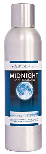 "Natural Air Freshener / Room Fragrance Spray ""MIDNIGHT"" Scent, Navy, 6 oz."