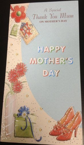 A Special Thank You Mum On Mother's Day Card