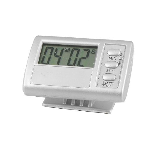uxcell® Adhesive Digital LCD 99 Minute 59 Second Count Down Alarm Timer