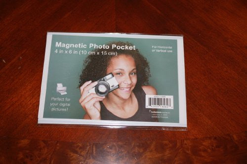 Flexible Magnetic Photo Pockets -4x6 (1 Pack)